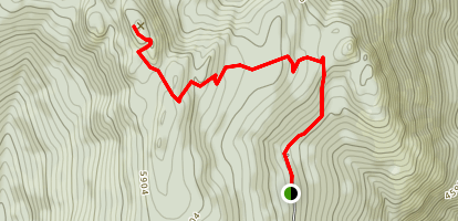 Queen Mountain Trail Map