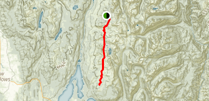Crestline Trail Map