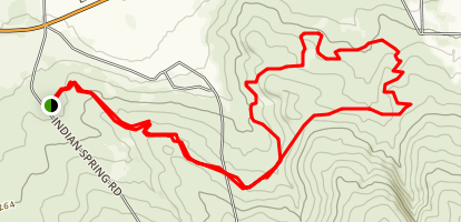 South Hills Singletrack Nirvana Map