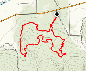 David's Loop Trail Map