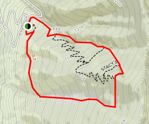 Pebble Creek Ski Area Map