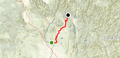 Weiser River Trail Map