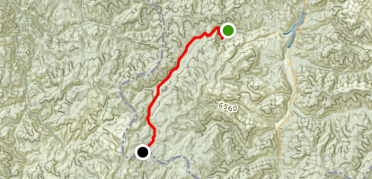 Blue Joint Trail Map