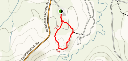 Coulee Viewpoint Trail Map