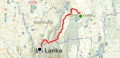 Angamedilla National Park Map
