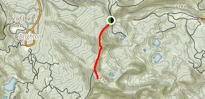 Clayton Peak from Guardsman Pass Map