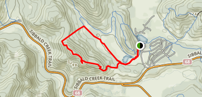 Deer Ridge Trail Map