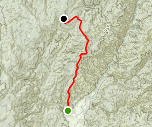 Bear Wallow Trail (historical) Map