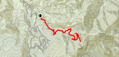 Deep Creek Crest Map