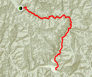 Coeur d'Alene River National Recreation Trail Map