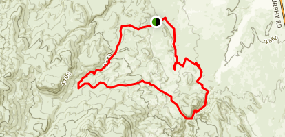 Wilson Creek Mini-Moab Loop Map