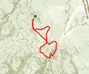 China Ditch Trail Map