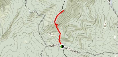 Mad Tom to Styles Peak via Long Trail (Appalachian Trail) Map