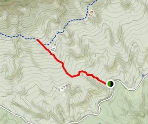 Red Rock Spring Trail Map