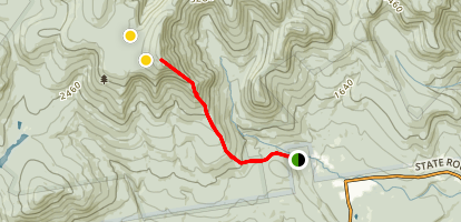 Blueberry Ledge Trail Map