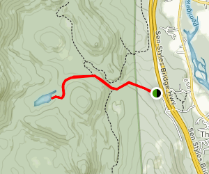 Peaked Hill Pond Trail Map