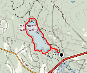 Tower Hill Pond Loop Map