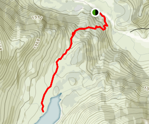 Carter Lake Trail Map
