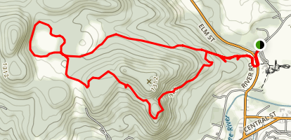 Mount Tom Map