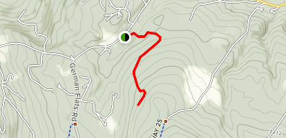 Catamount Cross Country Trail Map