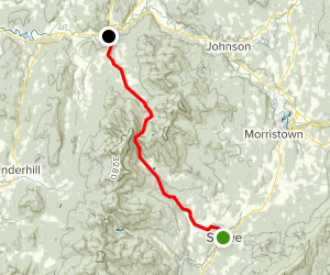 Smugglers Notch Scenic Drive Map