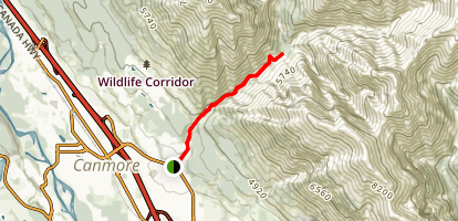 Cougar Creek Trail Map