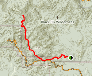 Norbeck Trail Map