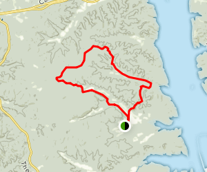 Wranglers Campground Trail Map