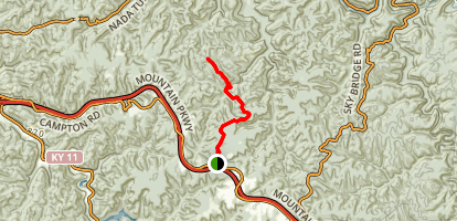Buck Trail Via Koomer Ridge Trail Map