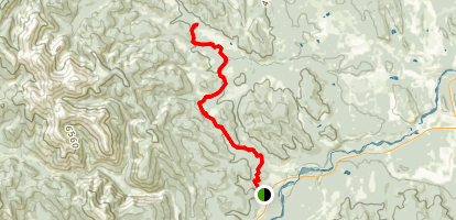 Tom Snow Trail - South Map