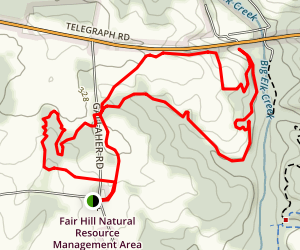 Gallaher Carriage Trail Map