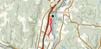 Hazen Trail Loop Map