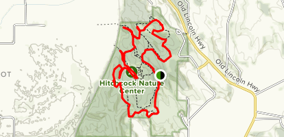 Hitchcock Nature Center Loop Trail Map