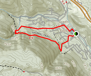 Thomas Trail Map