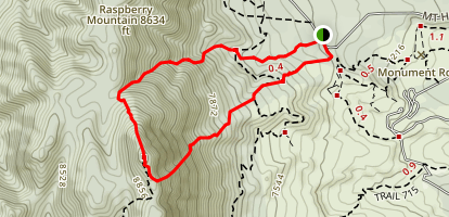 Mount Herman Scramble Map