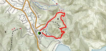 Upper Seafoam Trail Loop Map