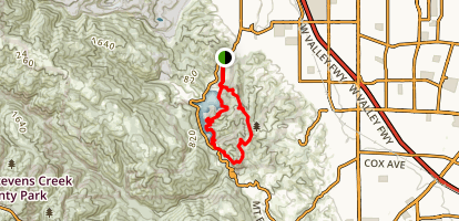 Stevens Canyon Trail Map