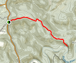 Centerpoint to Goat Trail Map