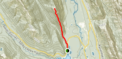 South Lawson Peak  Map
