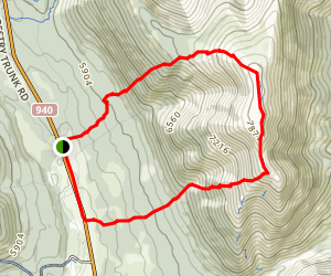 Mount Livingstone Trail Map