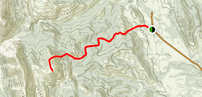 Sheep Mountain Route Map