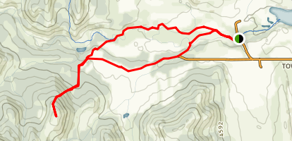 Willow Creek Hills Route Two Map