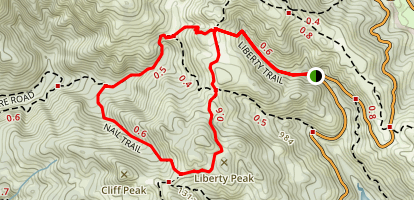 Liberty Trail Loop Map