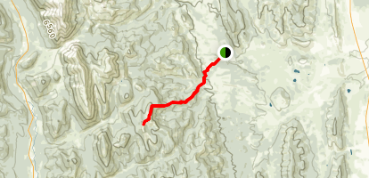 Horseshoe Peak Trail Map