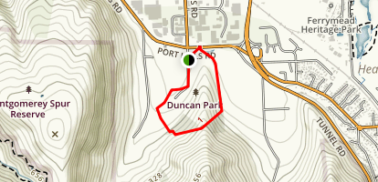 Duncan Park Trail Map