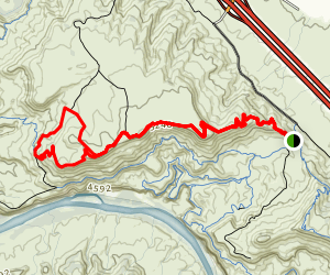 Macks Ridge Trail Map