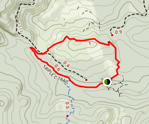Triple C Trail to Gales Creek Trail Loop Map