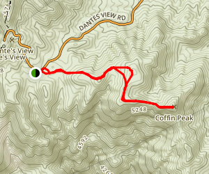Coffin Peak Map