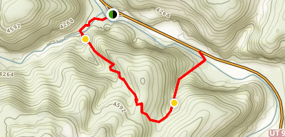 Hog Canyon Trail Map