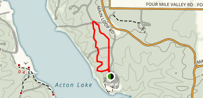 Mud Lick Hiking Trails Map